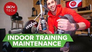 실내 훈련 설정을 깨끗하게 유지하십시오 | 실내 훈련 유지 보수