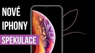 Nové Apple iPhony 2018 - co očekávat? - [spekulace]