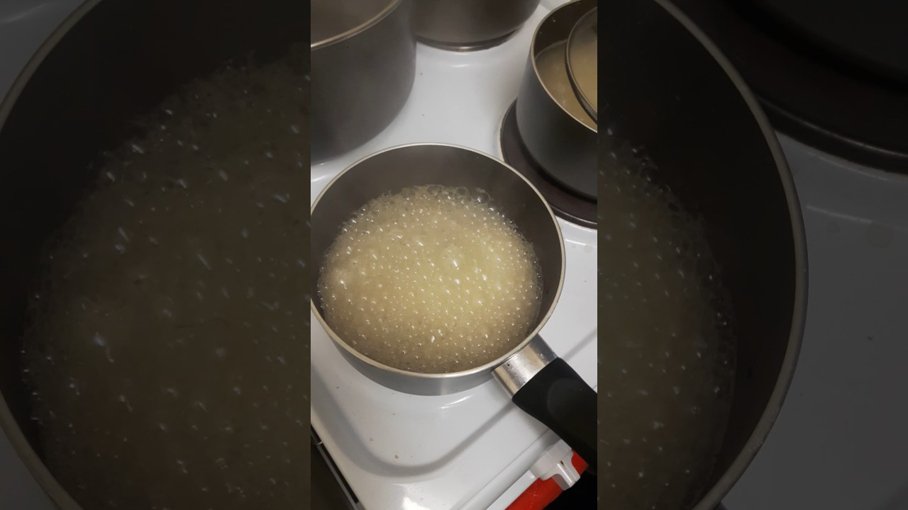 How to clean burnt jam from the pan 48