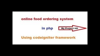 CodeIgniter project tutorial ) hotel booking system php