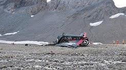 Flugteugabsturz: Schweizer Behörden suchen nach der Ursache
