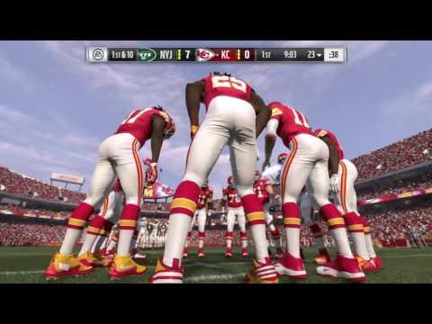 NFL Week 3 - New York Jets vs Kansas City Chiefs - Full Game - Simulation Nation