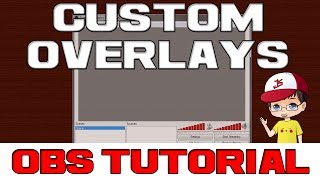 How To: Add Custom Overlays And Scrolling Text Using Obs (open Broadcaster Software)