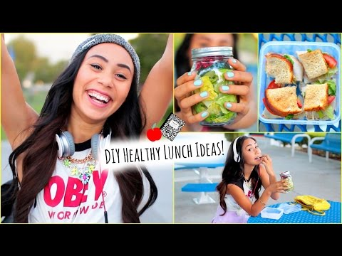 5 Healthy and Affordable Lunch Ideas for School!!