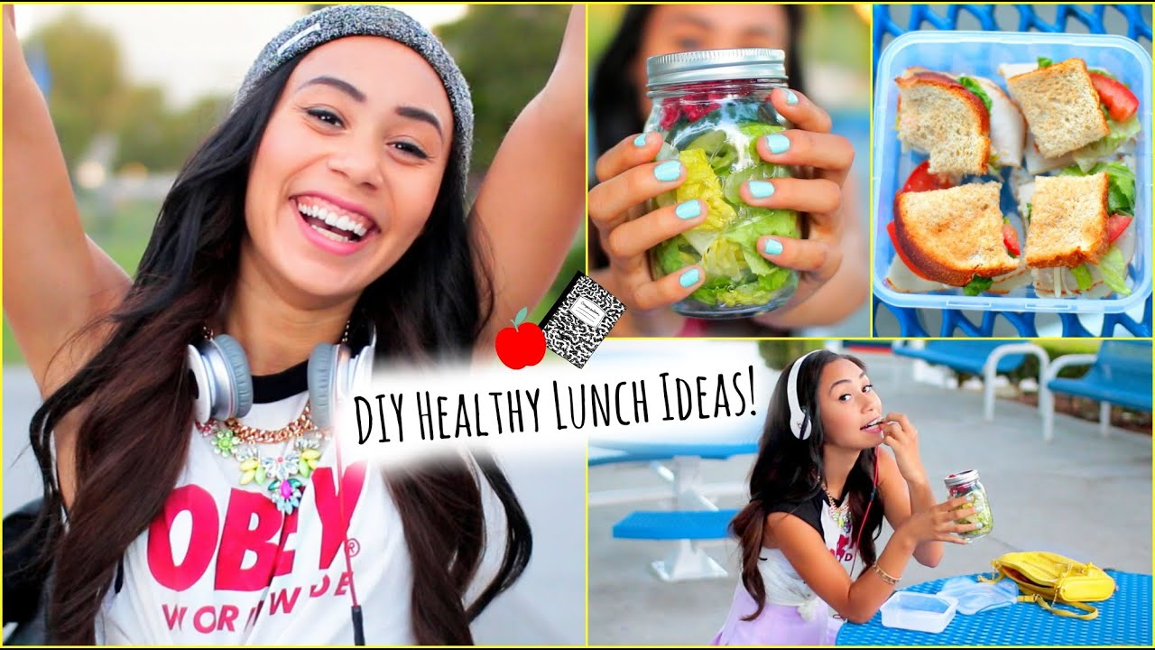 5 healthy and affordable lunch ideas for school!! - youtube