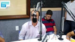 O prefeito de Bananeiras Douglas Lucena anuncia o secretariado