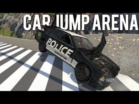 CAR JUMP ARENA - BEAMNG.DRIVE MODS