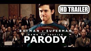 Batman v Superman: Dawn of Justice PARODY - Official Trailer 1 [HD]