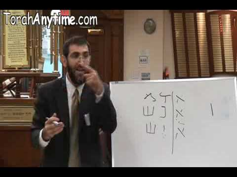 hebrew letters - the DNA of creation part 4