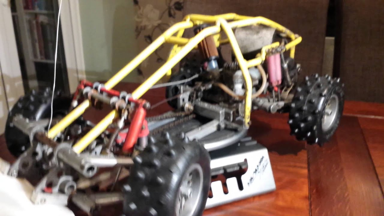 Vintage kyosho land jump 4x4 for sale - YouTube
