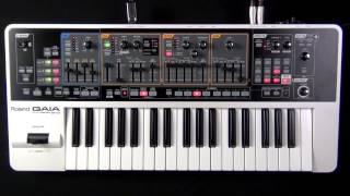 Roland Gaia SH-01 - How to Restore from USB (Back UP)