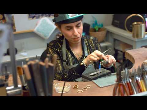 Ana Verdun - Behind the Scenes of a Bespoke Jewellery Studio