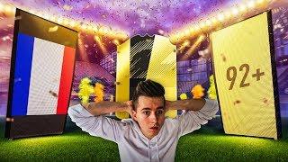 WALKOUT 92+ !!! MOJA NAJLEPSZA PACZKA?!   FIFA 18 PACK OPENING
