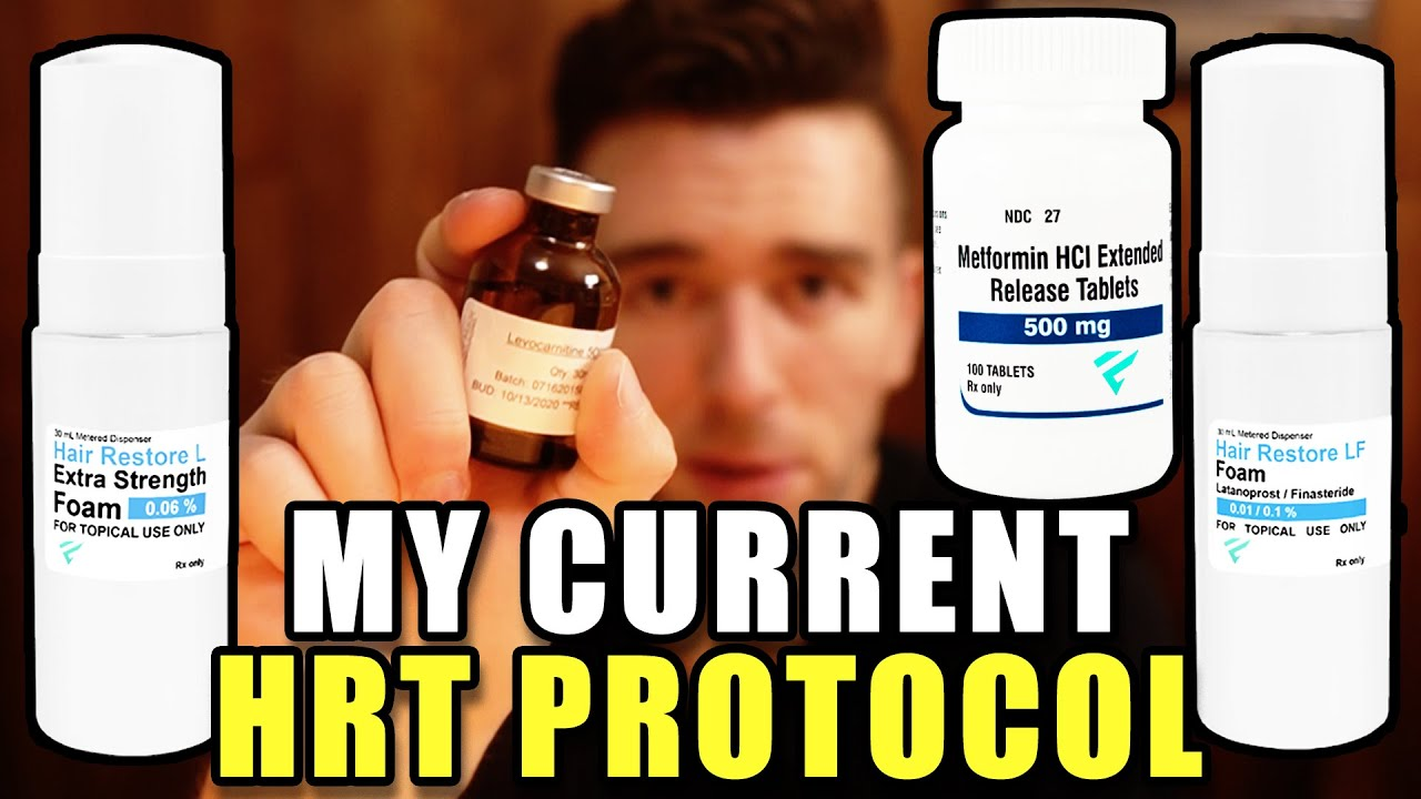 My Current HRT Protocol - New Shipment Unboxing