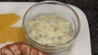 Parsley Garlic Mayonnaise Recipe - Alioli Sauce - By Vahchef @ Vahrehvah.com