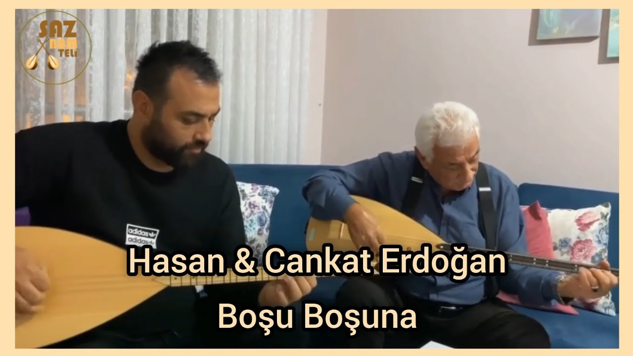 Hasan Erdoğan & Cankat Erdoğan - Boşu Boşuna (Baba Oğul Türküler) 2020 #SazBamTeli