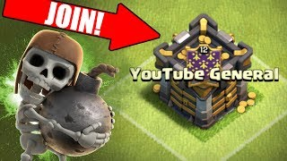 JOIN MY CLAN IN CLASH OF CLANS!! HOW TO BECOME A CO-LEADER!?