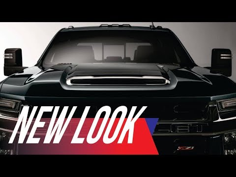 Reporting for Heavy Duty: Chevrolet Teases 2020 Silverado HD