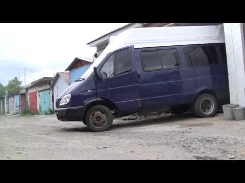 ГАЗЕЛЬ с двигателем ВАЗ 9 (Краткий тест драйв с двумя КПП).