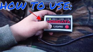 HOW TO USE HONDATA FLASHPRO | 8th Gen civic si
