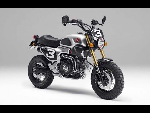 Honda Grom 50 Scrambler Concepts Powered By The Monkey S 50cc Air