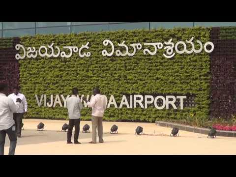 Vijayawada International Airport New Terminal Building-Gannavaram as on 12.01.2017