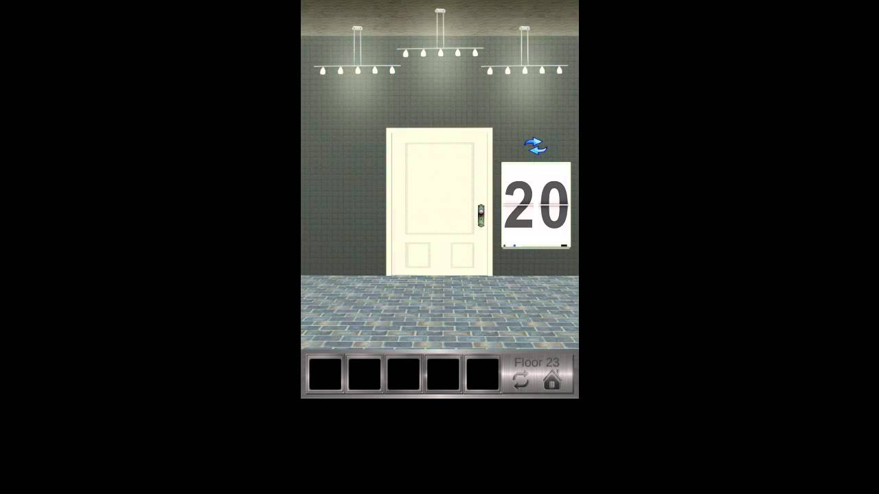 100 Floors 2 Escape Level 21 22 23 24 25 Walkthrough Youtube