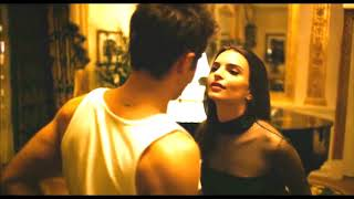 Emily Ratajkowski & Zac Enron Tongue Kissing (We Are Your Friends)