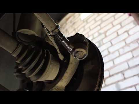 Меняем рулевой наконечник не нарушая сход-развал (теория)