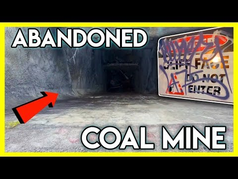 EXPLORING AN ABANDONED COAL MINE (amazing!) | MarlosVlogs