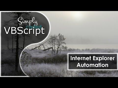 EasyIEAutomate Class ( Internet Explorer Automation )