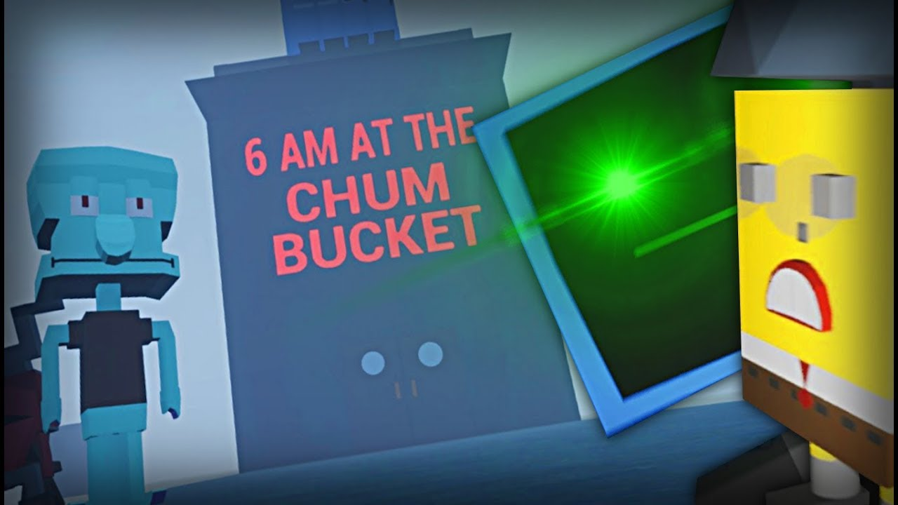 The Scariest Spongebob Horror Game Has Just Arrived 6am At The Chum Bucket