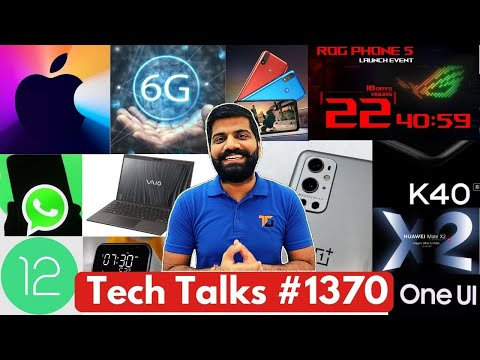 Tech Talks #1370 – Apple 6G, New Poco, Redmi Note 10 Specs, Android 12 Update, iPad Made in India