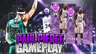 AMETHYST PAUL PIERCE GAMEPLAY! BEST AMETHYST IN THE GAME!? NBA 2K18 MYTEAM GAMEPLAY