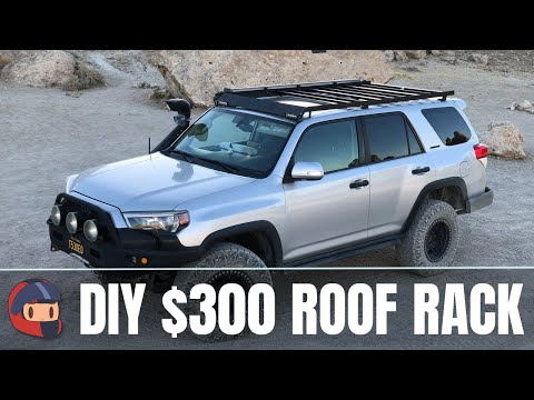 Build Your Own Damn Roof Rack - How I Built a $1000 Roof Rack for $300 in half a day.