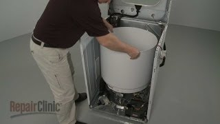 Washer Outer Tub and Bearing Replacement – Frigidaire Affinity Washer Repair (part #137326201)