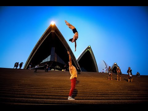 INSANE 10 MINUTE PHOTO CHALLENGE WITH CIRQUE DU SOLEIL IN AUSTRALIA Don&39;t try this