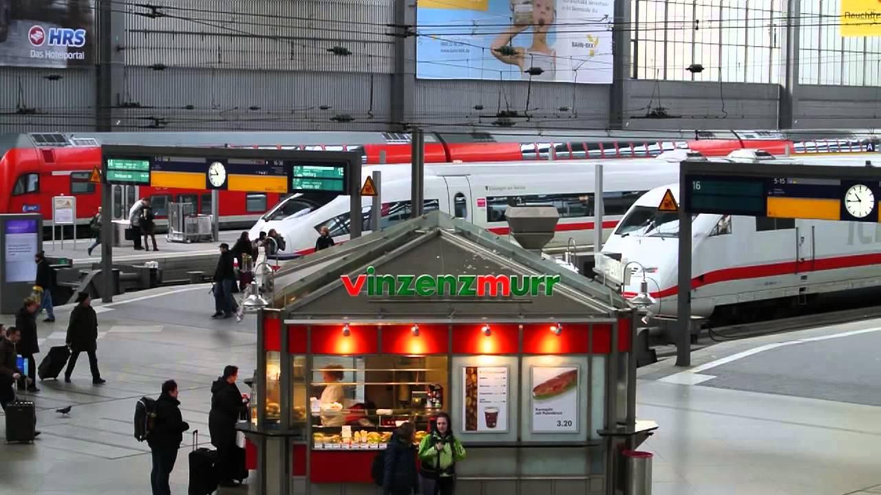 Webkamera München Hauptbahnhof