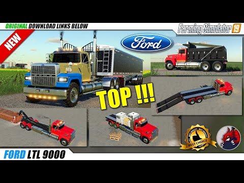 FS19   FORD LTL9000 Truck v1.0.1.0 - review