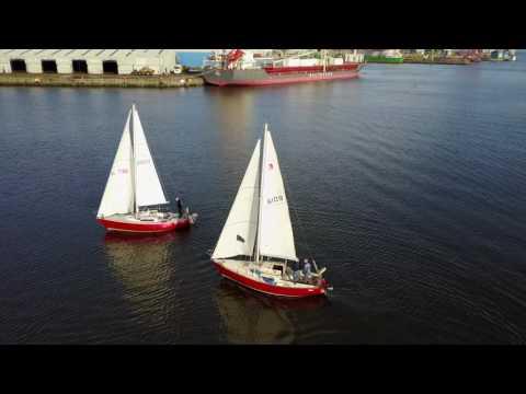 Poolbeg Yacht, Boat Club & Marina, Dublin - 2.7k Mavic Pro Drone Footage