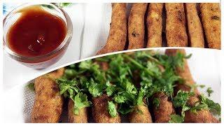 Crispy Potato Fingers (Aloo Fingers) | potato Starter | Tea Time Snacks | Delicious Food |