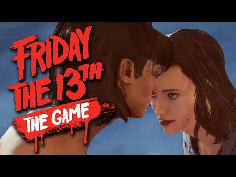 GRAVEYARD DANCE PARTY - Friday the 13th The Game Funny Moments