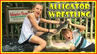 WHAT HAPPENED AT THE ALLIGATOR FARM?😱 | We Are The Davises