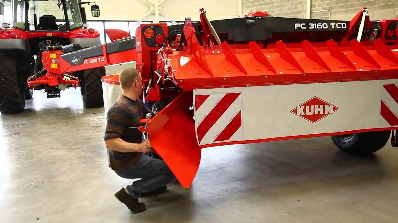 KUHN FC serie 60 - Adjustments and maintenance presentation - Mower  Conditioners (Demo)