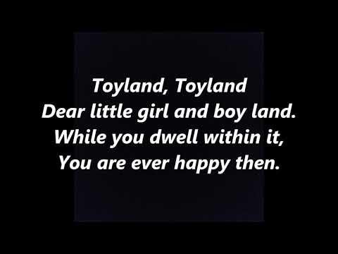 TOYLAND BABES IN TOYLAND VICTOR HERBERT LYRICS WORDS CHRISTMAS TRENDING SING ALONG SONGS