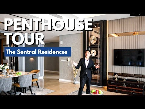 [KL Sentral] Luxury Penthouse with BEST KLCC VIEW at The Sentral Residences (2019)