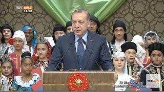 Cumhurbaşkanı Erdoğan'ın Konuşması - 23 Nisan Öncesi Cumhurbaşkanlığı Kabulü - TRT Avaz