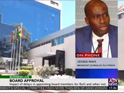 Presidential Approval - Business Live on Joy News (9-6-17)