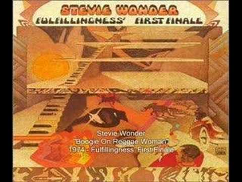 Stevie Wonder - Boogie On Reggae Woman