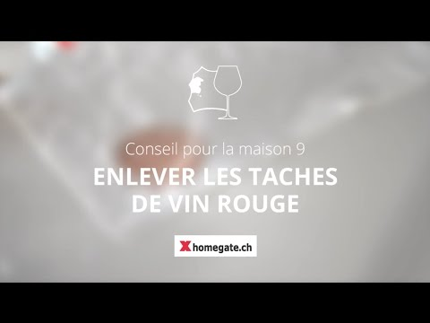conseil pour la maison 9 enlever les taches de vin rouge youtube. Black Bedroom Furniture Sets. Home Design Ideas